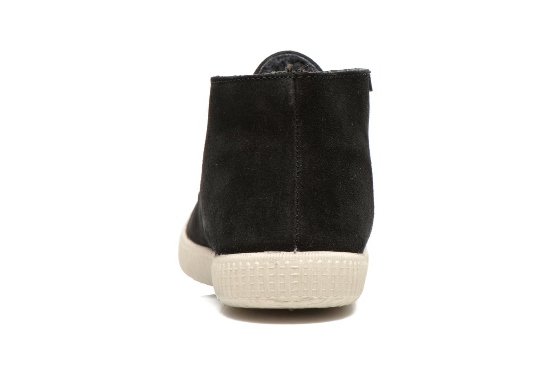 Chaussures à lacets Victoria Safari serraje M Noir vue droite