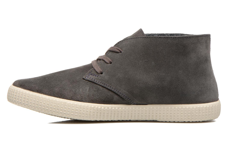 Chaussures à lacets Victoria Safari serraje M Gris vue face