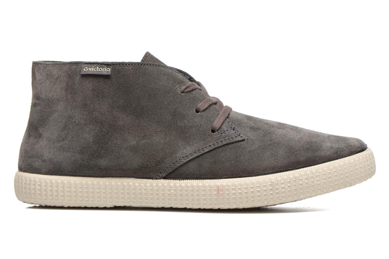 Chaussures à lacets Victoria Safari serraje M Gris vue derrière