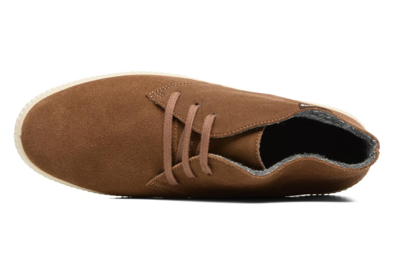 Chaussures à lacets Victoria Safari serraje M Marron vue gauche