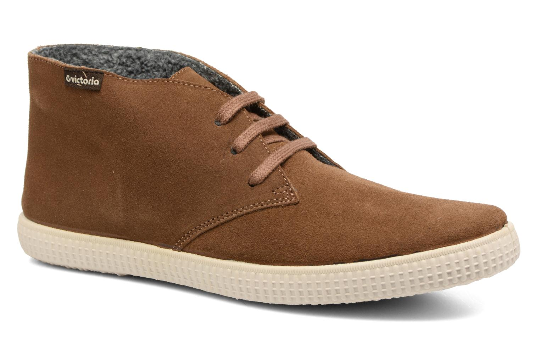 Lace-up shoes Victoria Safari serraje M Brown detailed view/ Pair view