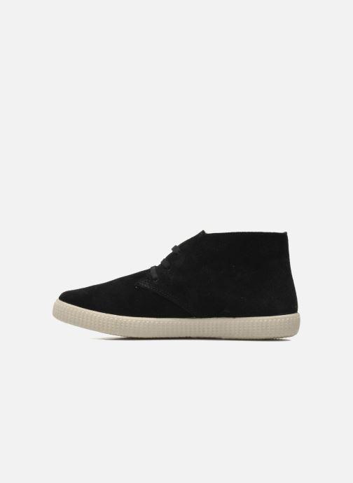 Sneakers Victoria Safari serraje W Zwart voorkant