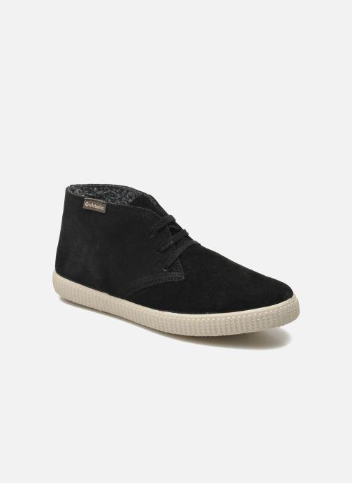 Sneakers Victoria Safari serraje W Zwart detail