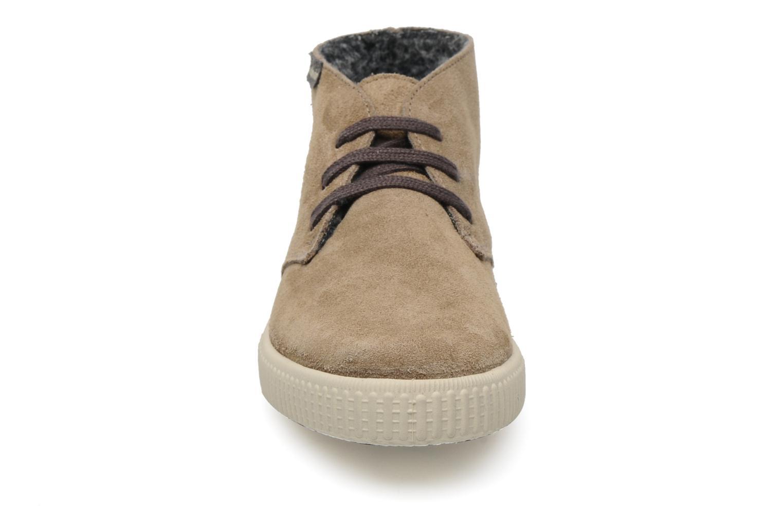 Sneaker Victoria Safari serraje W beige schuhe getragen