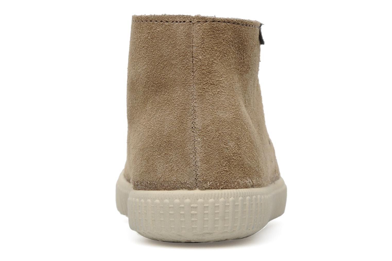 Sneaker Victoria Safari serraje W beige ansicht von rechts