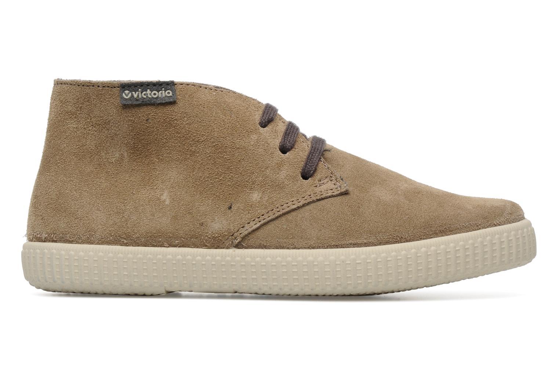 Sneaker Victoria Safari serraje W beige ansicht von hinten