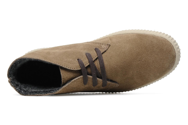 Sneaker Victoria Safari serraje W beige ansicht von links