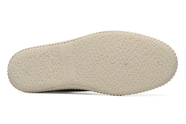 Sneaker Victoria Safari serraje W beige ansicht von oben
