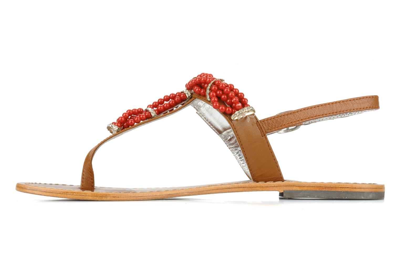 Sandales et nu-pieds Jonak Yoya Rouge vue face
