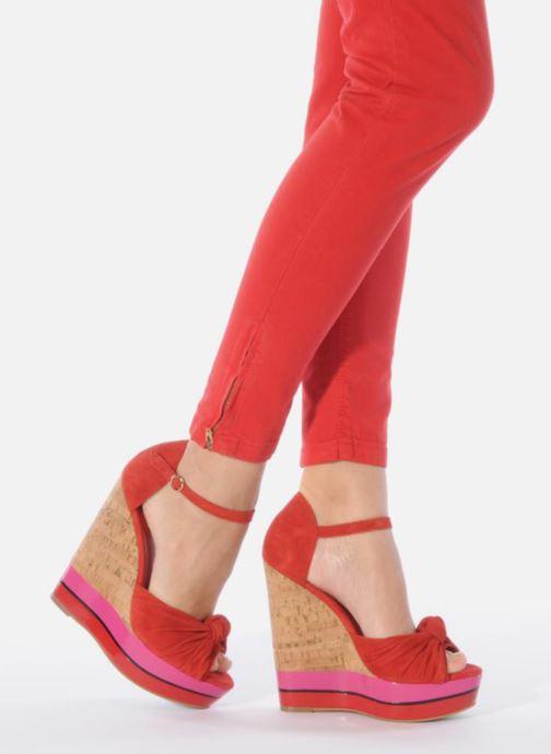 Et Carvela Sandales Red Kennis pieds Nu PXkuOiZ