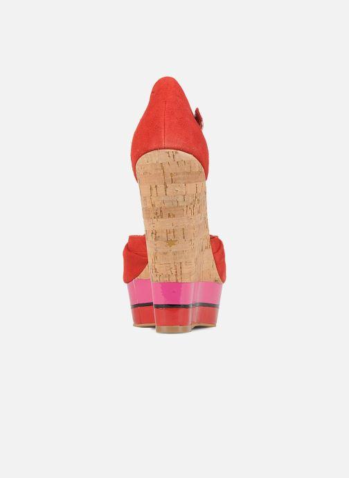Sandales et nu-pieds Carvela Kennis Rouge vue droite