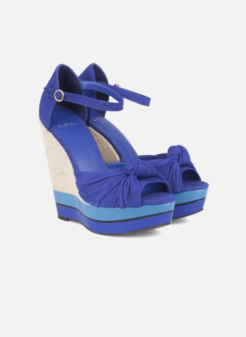 Sandals Carvela Kennis Blue 3/4 view