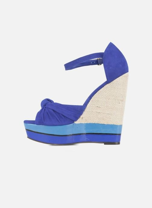 Sandales et nu-pieds Carvela Kennis Bleu vue face