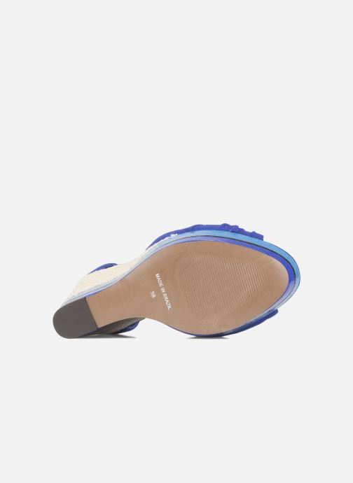 Sandals Carvela Kennis Blue view from above