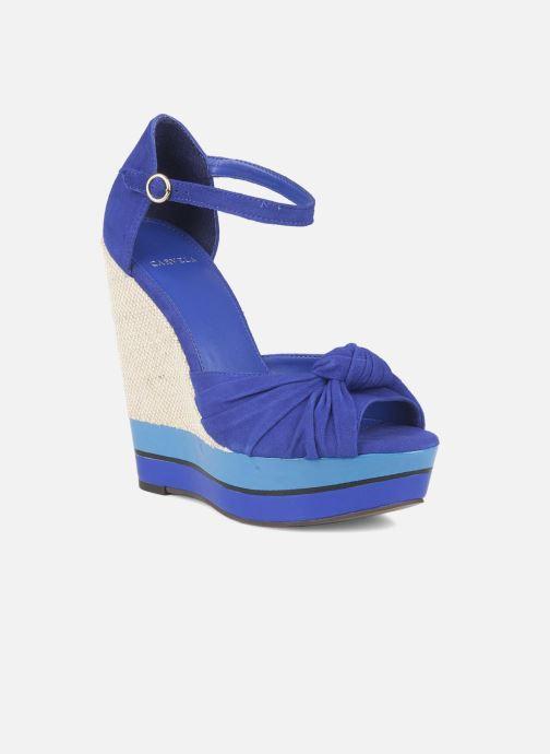 Sandals Carvela Kennis Blue detailed view/ Pair view