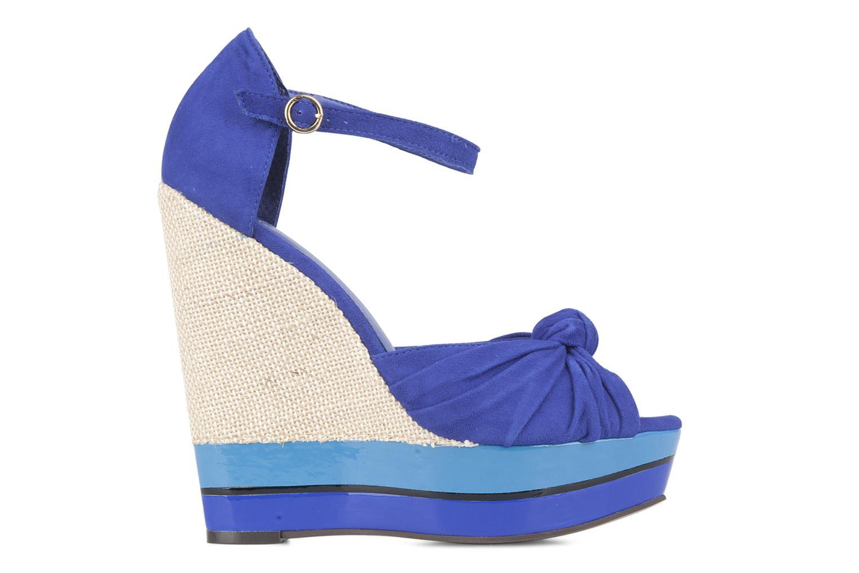Sandales et nu-pieds Carvela Kennis Bleu vue derrière