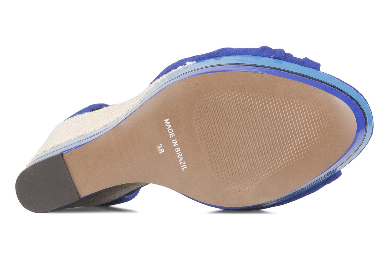 Sandales et nu-pieds Carvela Kennis Bleu vue haut