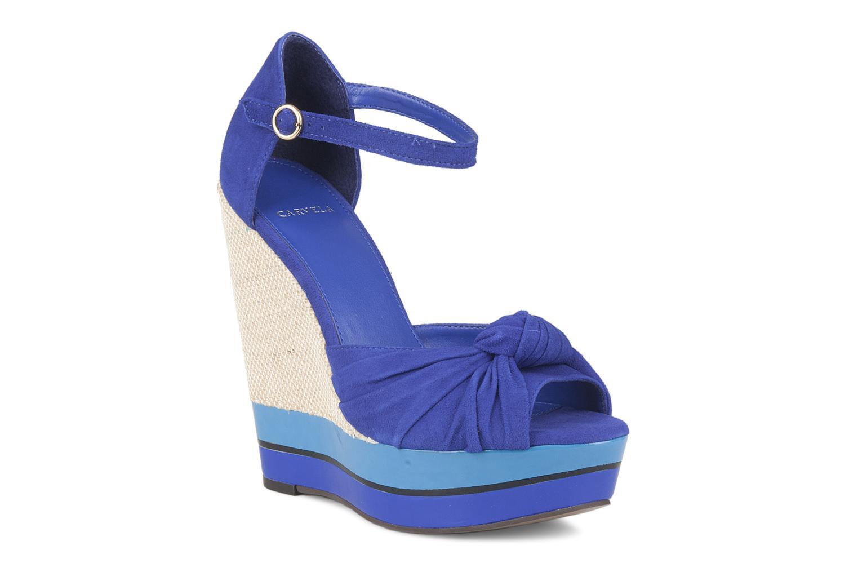 Sandales et nu-pieds Carvela Kennis Bleu vue détail/paire