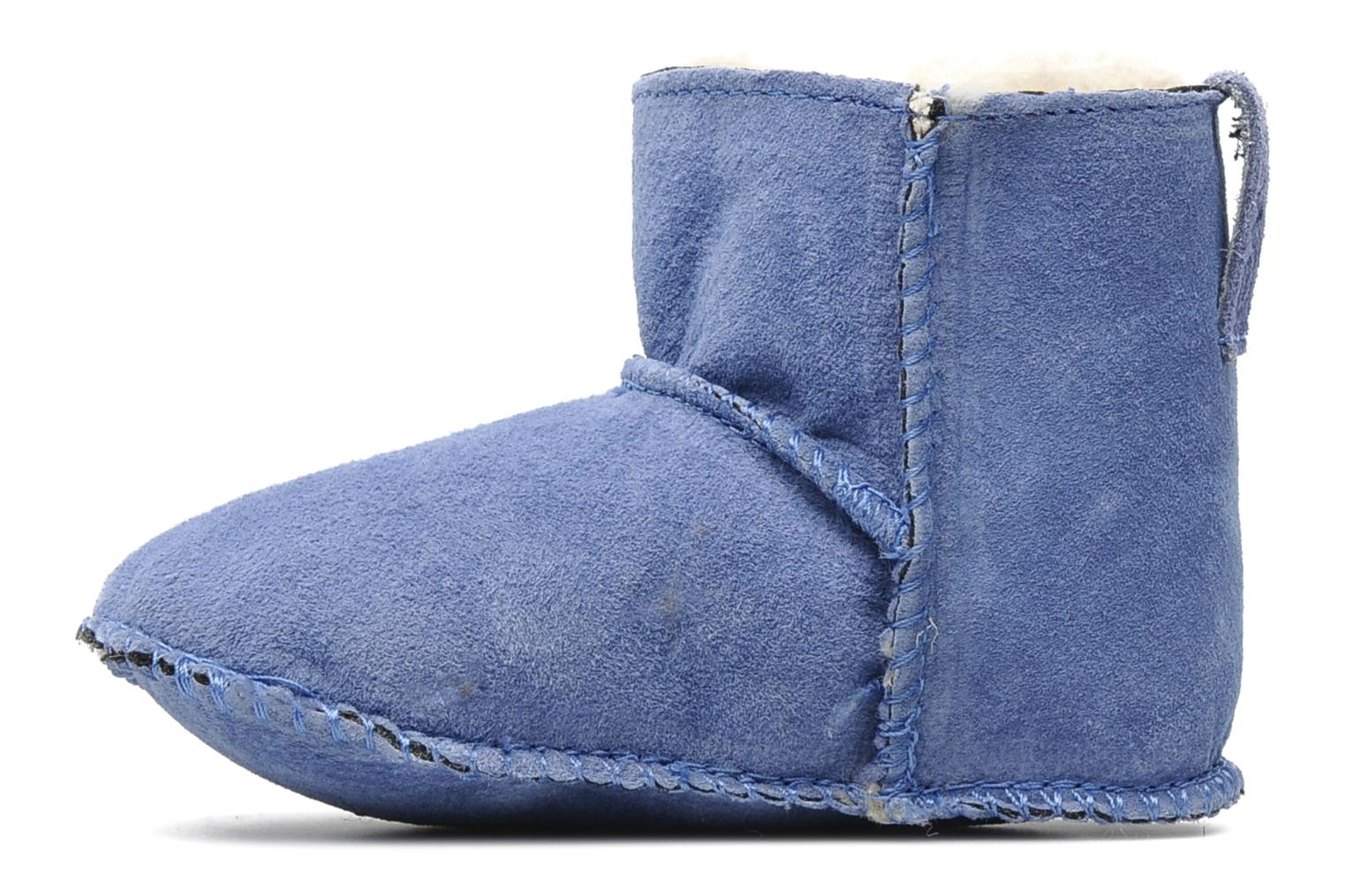 Ankle boots Emu Australia Baby bootie Blue front view