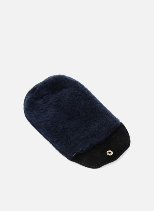 Schuhpflegeprodukte Famaco Polierhandschuh schwarz schuhe getragen
