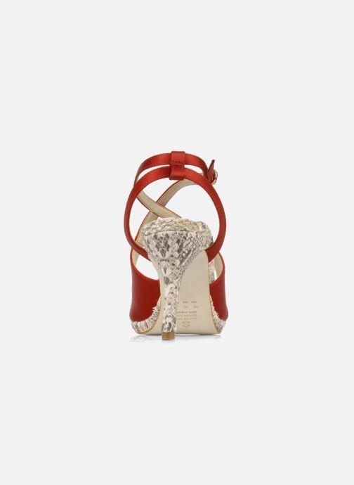Sandali e scarpe aperte Studio TMLS Galine Rosso immagine destra