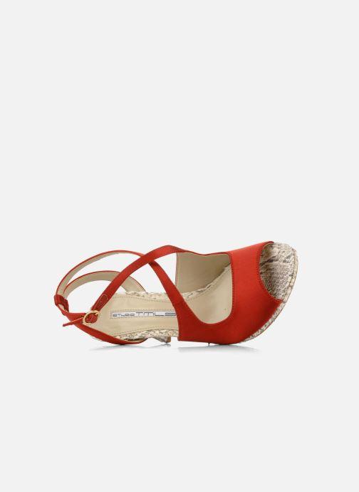 Sandales et nu-pieds Studio TMLS Galine Rouge vue gauche