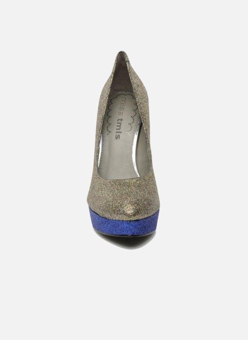 Zapatos de tacón Studio TMLS Pistols Oro y bronce vista del modelo