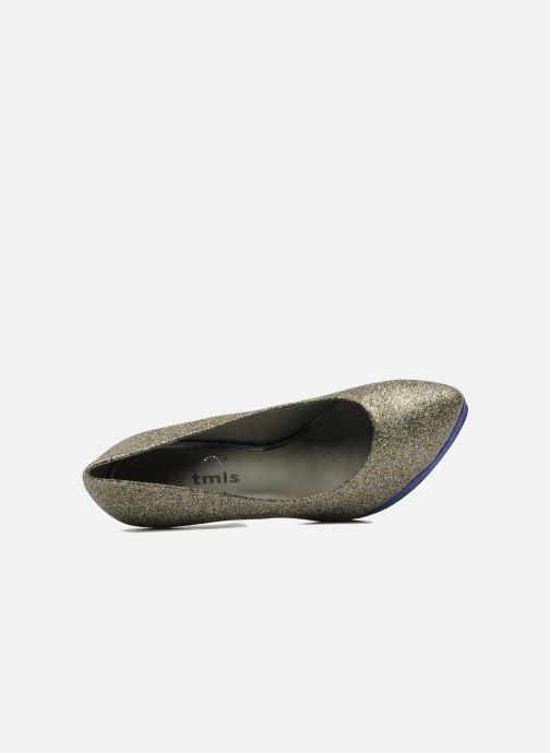 Zapatos de tacón Studio TMLS Pistols Oro y bronce vista lateral izquierda