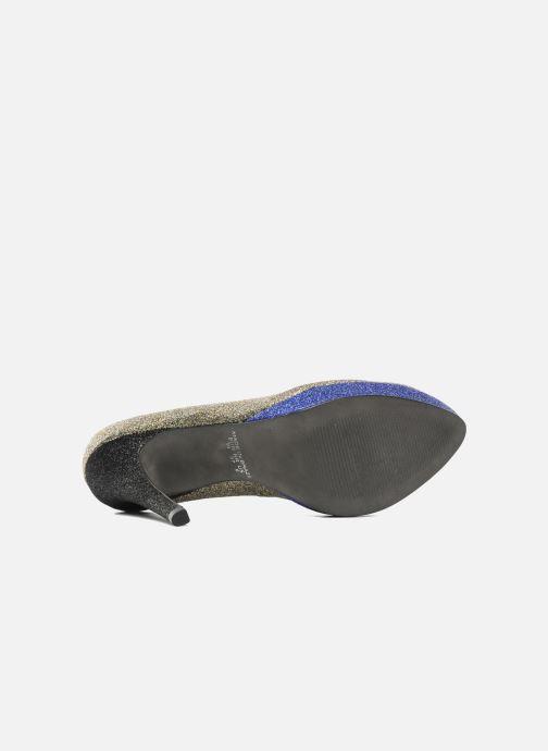 Zapatos de tacón Studio TMLS Pistols Oro y bronce vista de arriba