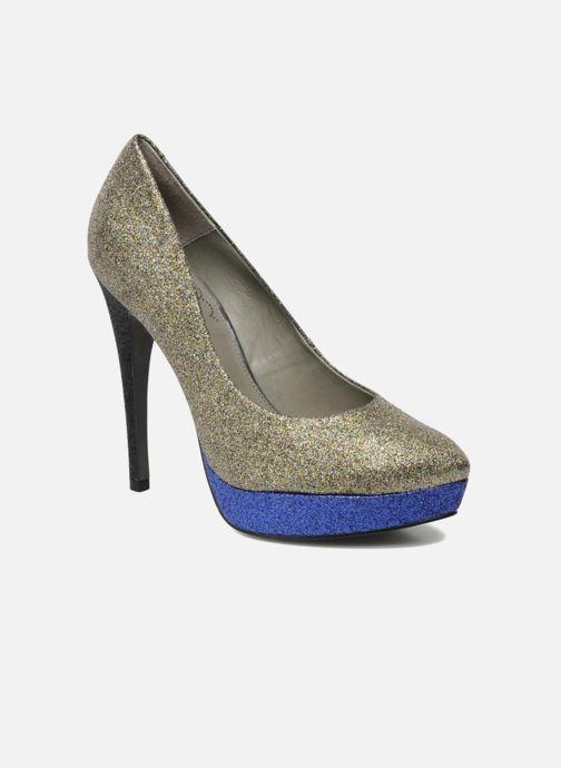 Høje hæle Studio TMLS Pistols Guld og bronze detaljeret billede af skoene