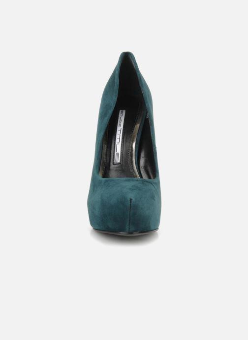 Escarpins Studio TMLS Stomp Bleu vue portées chaussures