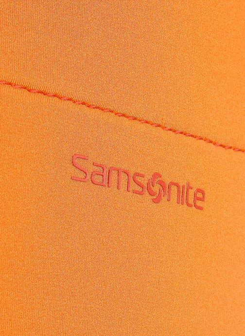 Petite Maroquinerie Samsonite Aramon laptop sleeve 15,6 Orange vue gauche