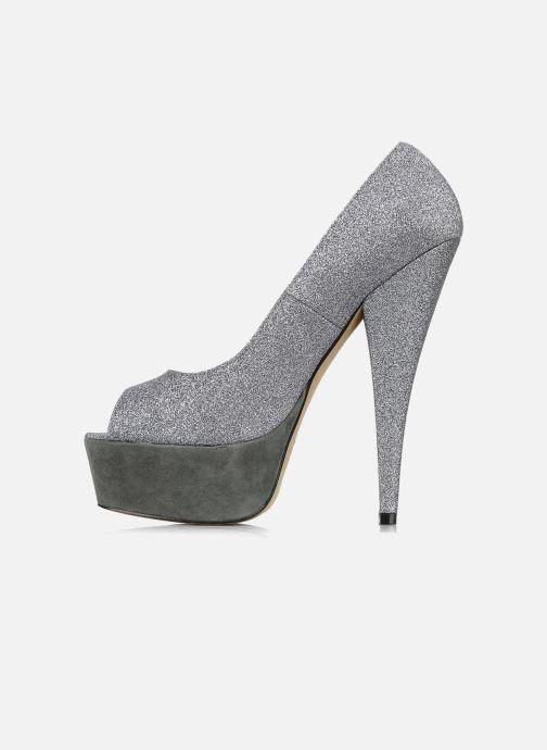 Zapatos de tacón Carvela April Plateado vista de frente