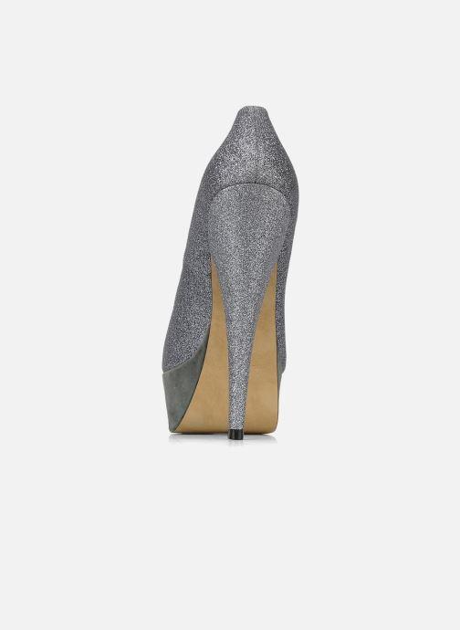 Zapatos de tacón Carvela April Plateado vista lateral derecha