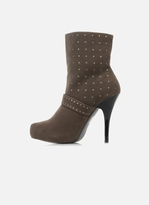 Boots en enkellaarsjes Morgan Mael Grijs voorkant