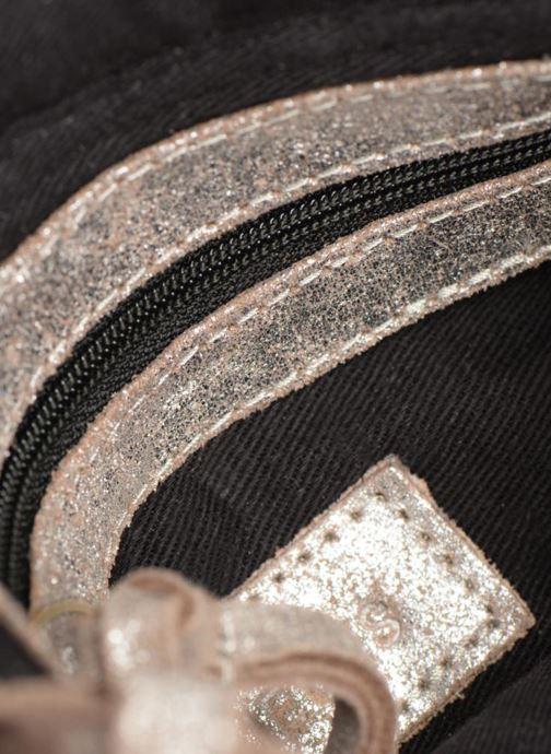Sacs à main Pieces Totally Royal leather Party bag Argent vue derrière