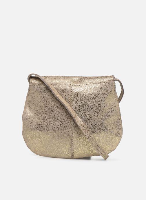 Sacs à main Pieces Totally Royal leather Party bag Or et bronze vue face