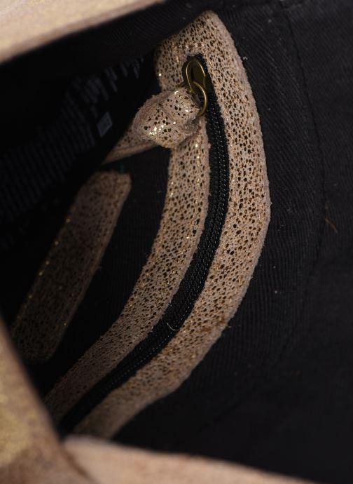 Sacs à main Pieces Totally Royal leather Party bag Or et bronze vue derrière