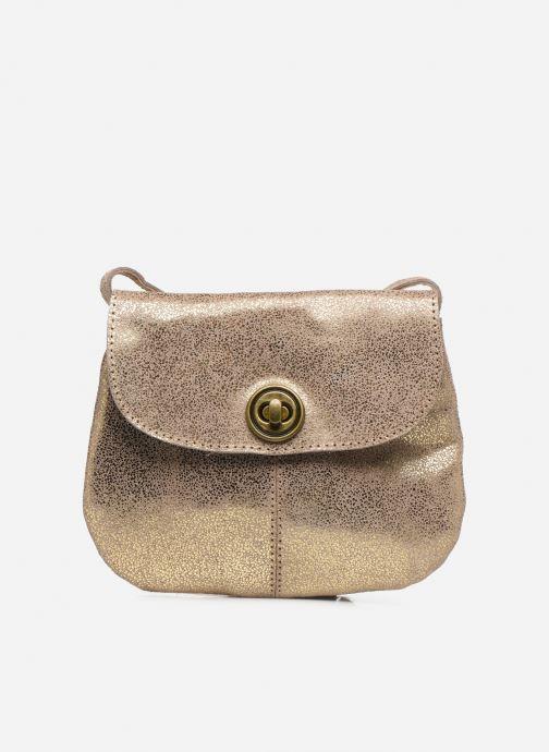 Sacs à main Pieces Totally Royal leather Party bag Or et bronze vue détail/paire