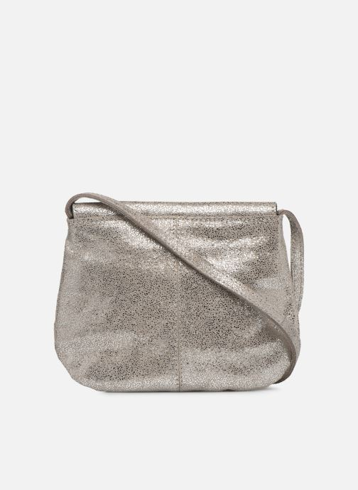 Handbags Pieces Totally Royal leather Party bag Silver front view