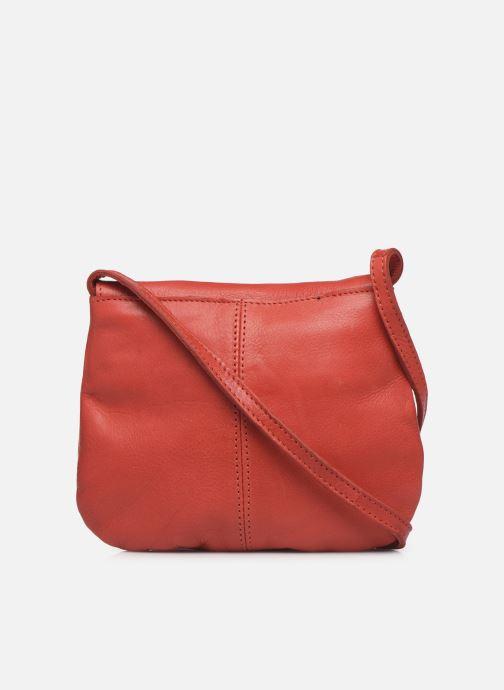 Sacs à main Pieces Totally Royal leather Party bag Rouge vue face