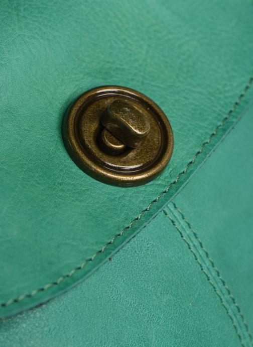 Sacs à main Pieces Totally Royal leather Party bag Vert vue gauche