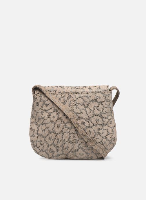 Handtaschen Pieces Totally Royal leather Party bag weiß ansicht von vorne