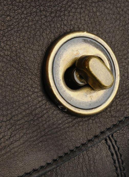 Sacs à main Pieces Totally Royal leather Party bag Noir vue gauche