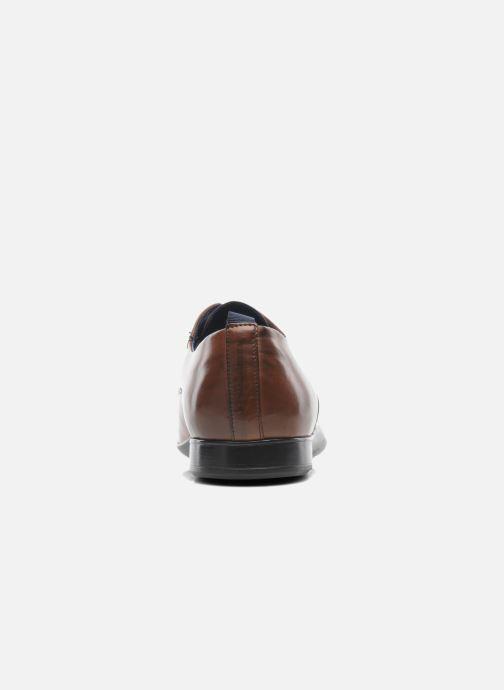 Zapatos con cordones Azzaro Giant Marrón vista lateral derecha