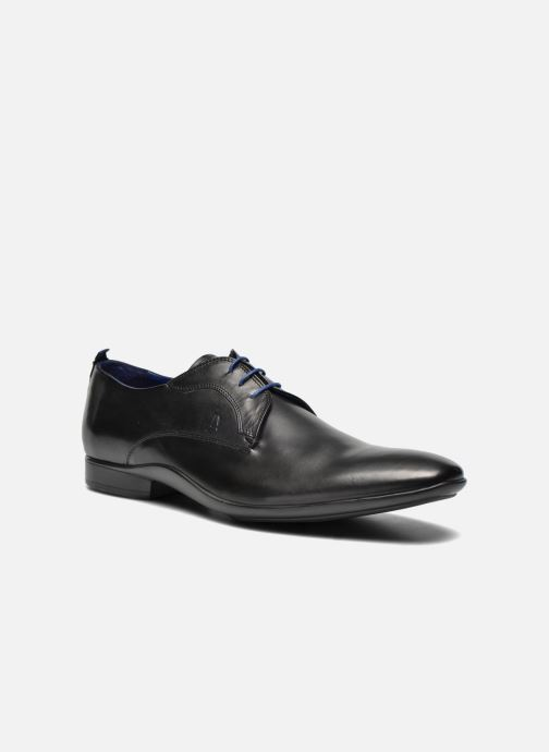 Lace-up shoes Azzaro Giant Black detailed view/ Pair view