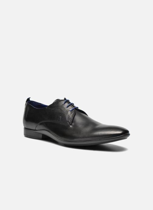 Zapatos con cordones Azzaro Giant Negro vista de detalle / par