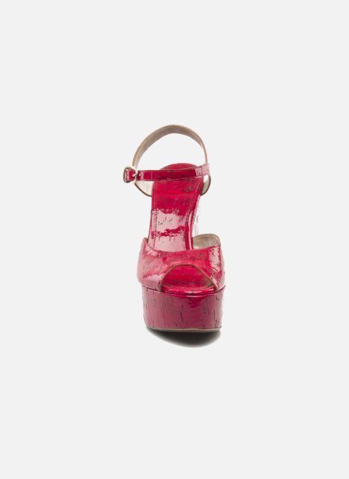 Sandales et nu-pieds D&G Piral Rouge vue portées chaussures