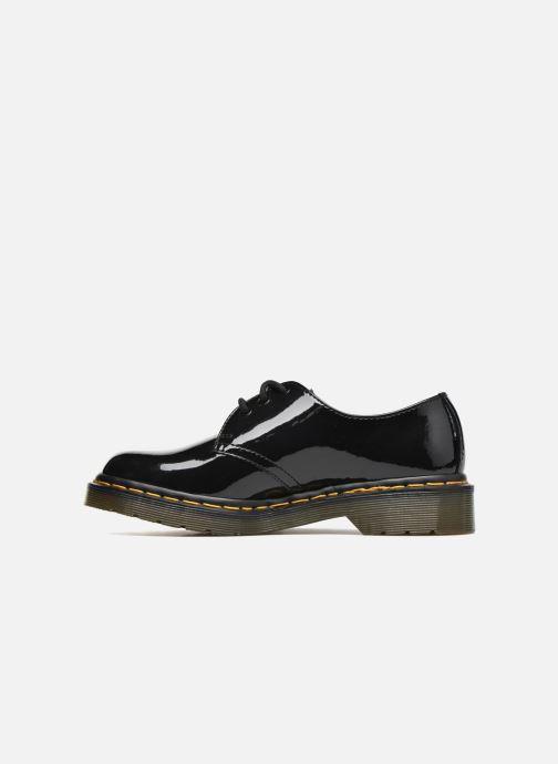 Snörade skor Dr. Martens 1461 w Svart bild från framsidan