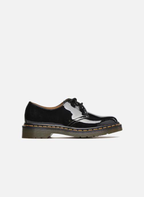 Snörade skor Dr. Martens 1461 w Svart bild från baksidan